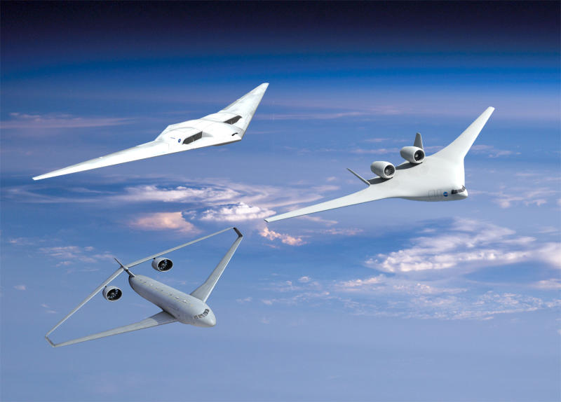 NASAnewplanedesigns